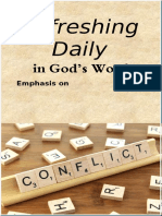 "Emphasis on ""Conflict""  November 2019"
