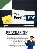 Tecnicas de Persuacion