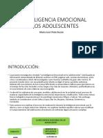La Inteligencia Emocional en Los Adolescentes