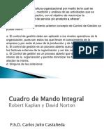 Control de Gestion y CMI Para Parcial
