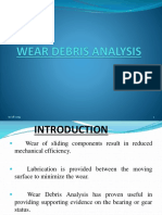 Wear Debris Analysis oil ppt