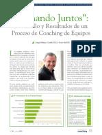 Remando Juntos. Desarrollo y Resultados de Un Proceso de Coaching