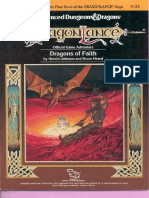 TSR9133 DL12 DragonLance - Dragons of Faith