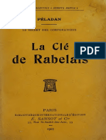 Joséphin Péladan La Clave de Rabelais