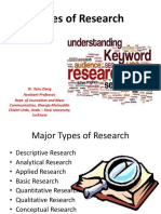 Research and its types