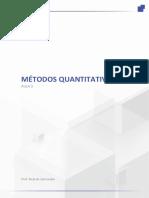 Métodos Quantitativos - Aula 3