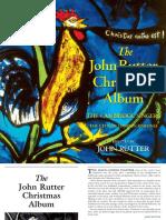 John Rutter booklet