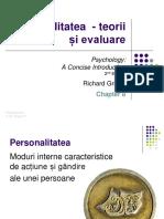 Psihologie personalitatea