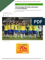 Com representantes do Flamengo, São Paulo e Barcelona, estreia do Brasil sub-17 tem 50 olheiros