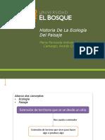 Historia De La Ecología Del Paisaje.pptx