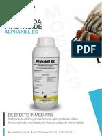 Alphakill EC - Folleto