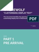 manual de wehrewolf