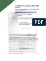 Microsoft Windows Server 2008 R2 - Instalação e Configuração Do Active Directory - DNS - DHCP