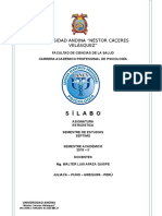 Silabo Estadística 2019 II