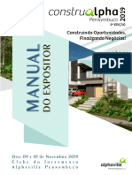 Manual expositor ConstruAlphaPE 2019