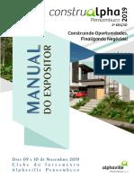 Manual expositor ConstruAlphaPE 2019