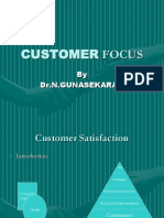 Clg TQM_Customer Focus