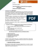 Anamnesis neurológica y evaluación neurocognitiva