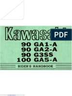 KAWASAKI MANUAL FOR 90_ga1a
