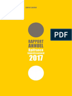 Rapport Annuel 2017 Bpifrance Investissement