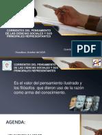 CORRIENTES DEL PENSAMIENTO FILOSÓFICO
