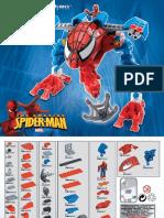 Spider-man Folheto