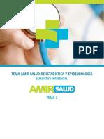 PDF Tema 2 Estadística y Epidemiología
