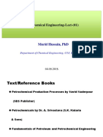 Petrochemical Engineering-Lect 01 Include Processes