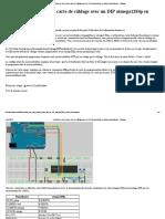 Carte de Câblage Avec Un DIP Atmega1284p en Utilisant Duemilanove - Câblage