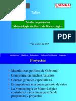 Proyectos y Matriz de Marco Lógico - Senaju