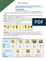 1º ESO. Naturales. Tema 9. Los Minerales (SM)