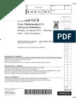 January 2013 QP - C1 Edexcel.pdf