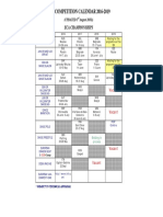 Eca Calendar 2016-2019 Updated 3 August 2016