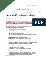 Guía Uso c s z y Monosílabos