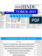 23-10-2019 - Single Page - Handwritten Notes - Shankar IAS Academy