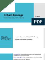 Estimation Echantillonnage