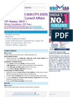 NEO IAS Daily Newsletter 12th October 2019 (1)