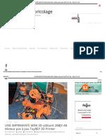 UNE IMPRIMANTE 3D MINI Utilisant 28BJY-48 Moteur Pas à Pas ToyREP 3D Printer - Electric DIY Lab