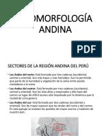 Geomorfología Andina