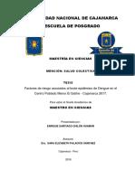 Factores de riesgo asociados al brote epidémico de Dengue en el Centro Poblado Menor El Salitre -.pdf