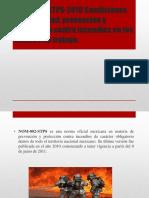 NOM-002-STPS-2010 Condiciones de seguridad, prevención y protección.pptx