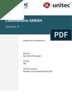 Cuestionario SARAH