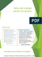 Modelos Del Trabajo Social Con Grupos 2019 II