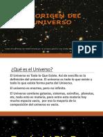 1. El Universo