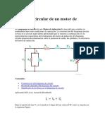 Diagrama Circular de Un Motor de Inducción