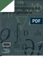 Fundamentos de Electromagnetismo Para Ingenieria ( David k Cheng)