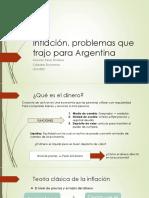 Inflación, Problemas Que Trajo Para Argentina