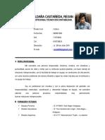 Cv. Rexan Saldaña c