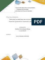 Fase 3 Formato Unidad 2 Fase 3 Propuesta Social_actividad Claudia Lorena Vasquez