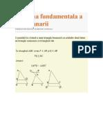 Teorema fundamentala a  asemanarii.doc